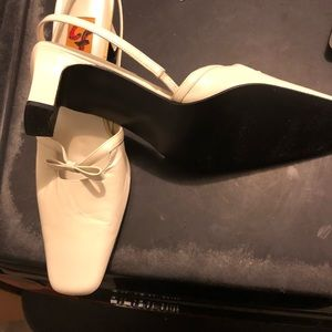 CF by falchi Shoes - Vintage White heels